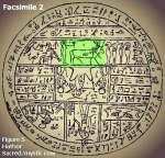 Facsimile 2 Figure 5 Hathor Sacred mystic cow