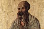 Prophet Malachi by Duccio di Buoninsegna 1308-1311 Italy