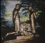 Altar Adam and Eve