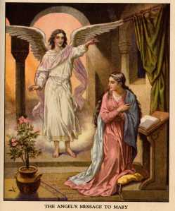 2014 The angel's message to Mary