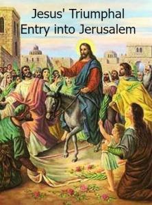 2014 Jesus on a Colt