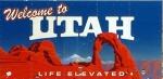 Utah roadsign