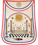 George Washington Masonic Apron