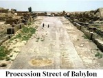 Proceession Street of Babylon