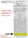 Deseret News God Born of a Woman 1