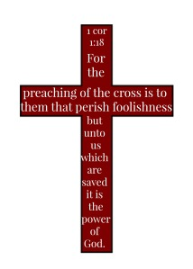 Cross 1 Cor 1 18