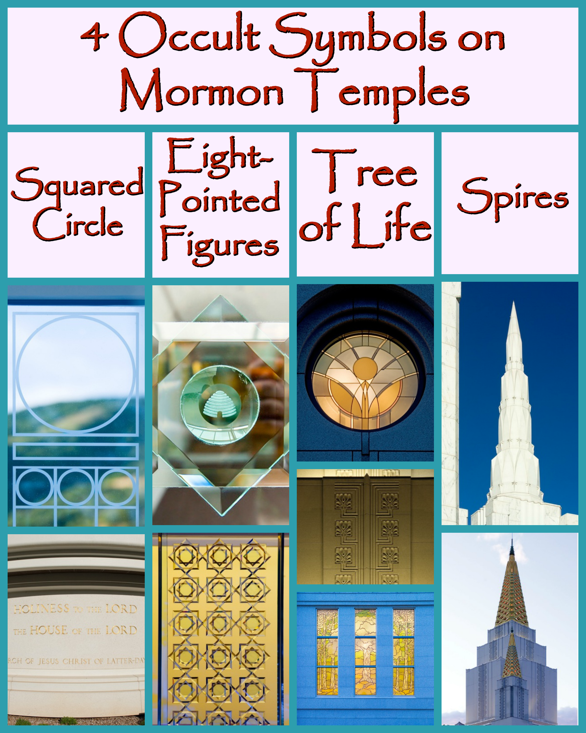4 Occult Symbols On Mormon Temples Life After Ministries