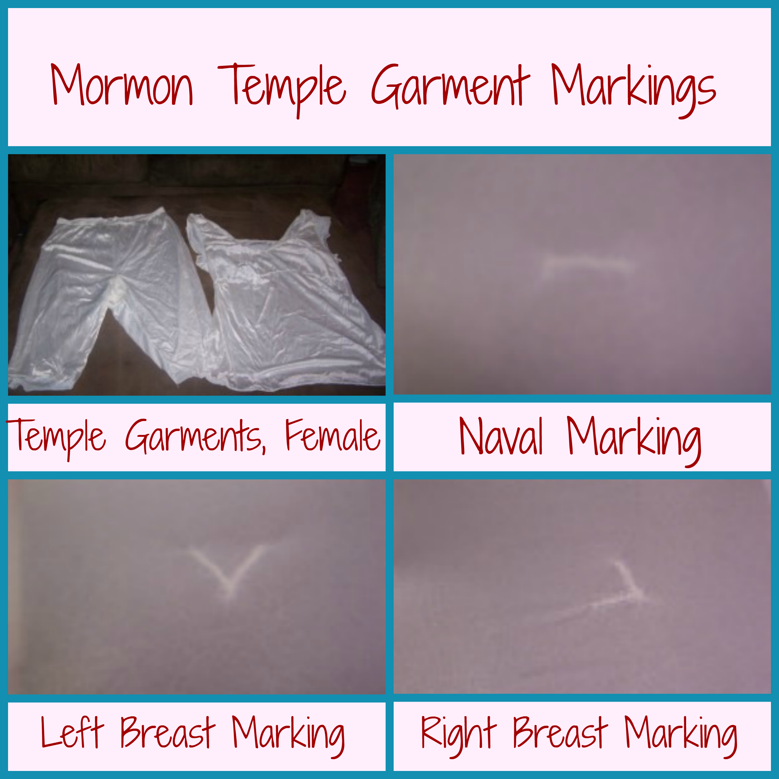 Meaning Behind Occult Mormon Temple Garments Life After Ministry