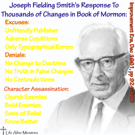 Joseph Fielding Smith's Response BoM Changes