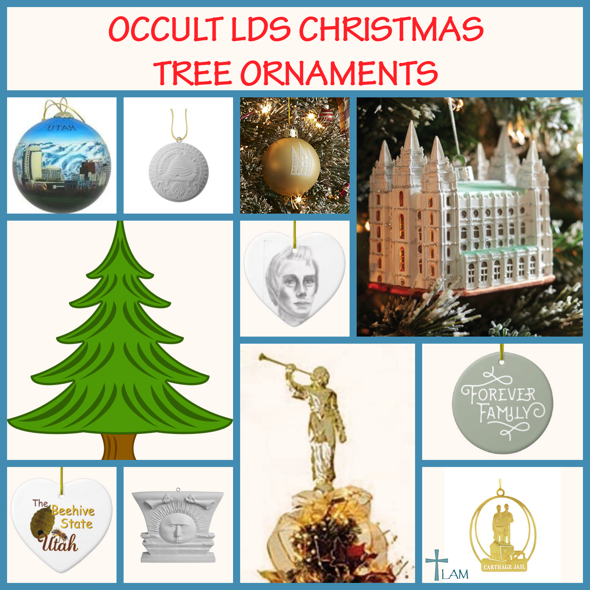 Occult Symbols In Mormonism Sold As Christmas Ornaments Life After